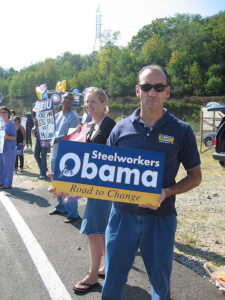 Anti-McCain Protest Rally in Washington County. Molly Theobald. August 30, 2008.