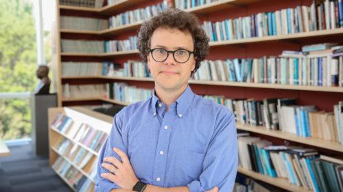 A photo of MAQ's Editor, Alex Nading